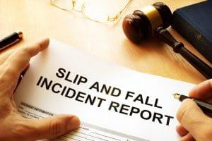 Incident Report - Slip N Fall DJ Law MS